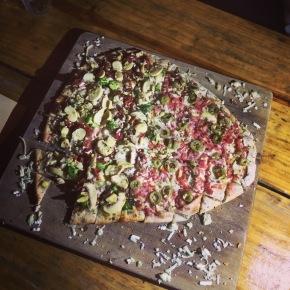 Bistrô da Travessa: onde a pizza épetisco