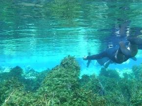 Flutuação no Recanto Ecológico Rio da Prata – Mato Grosso doSul