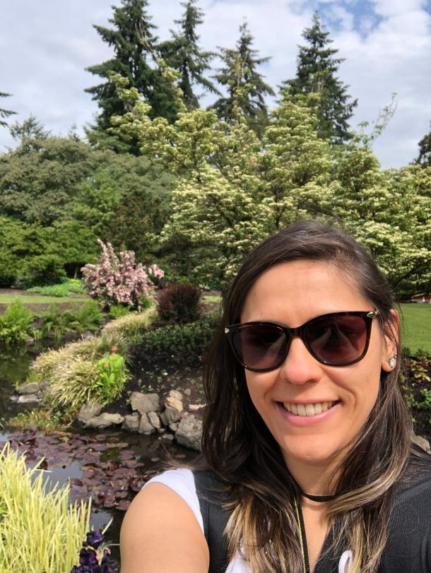 Foto no Queen Elizabeth Park, em Vancouver, Canadá